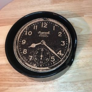*3for30* Set of 6 vintage looking 'clock' coasters
